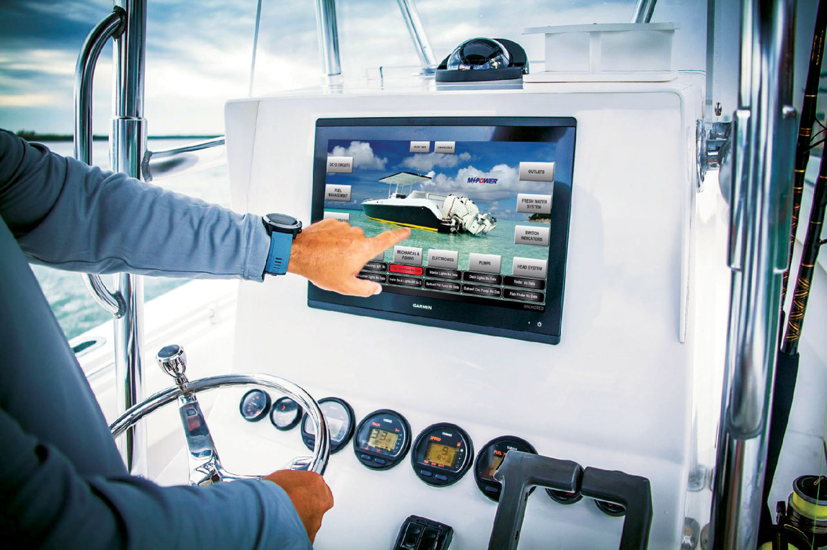 Maretron's MPower is compatible with the multifunction displays from all of the major manufacturers.
