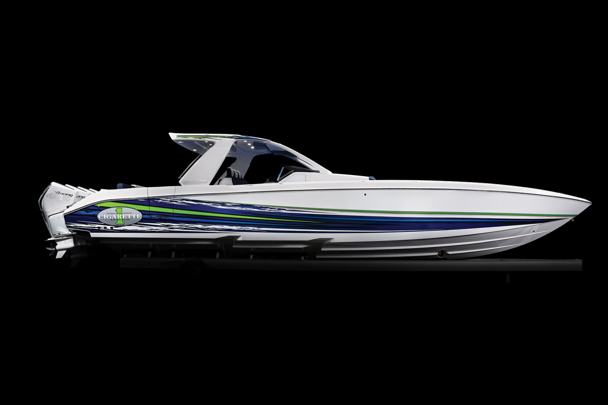 The 41 Nighthawk is part of the company's growing line of outboard models.