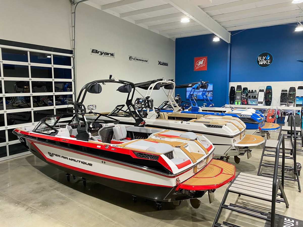 Buying a new boat now likely means preordering from a dealer's 2022 manufacturer allottment.