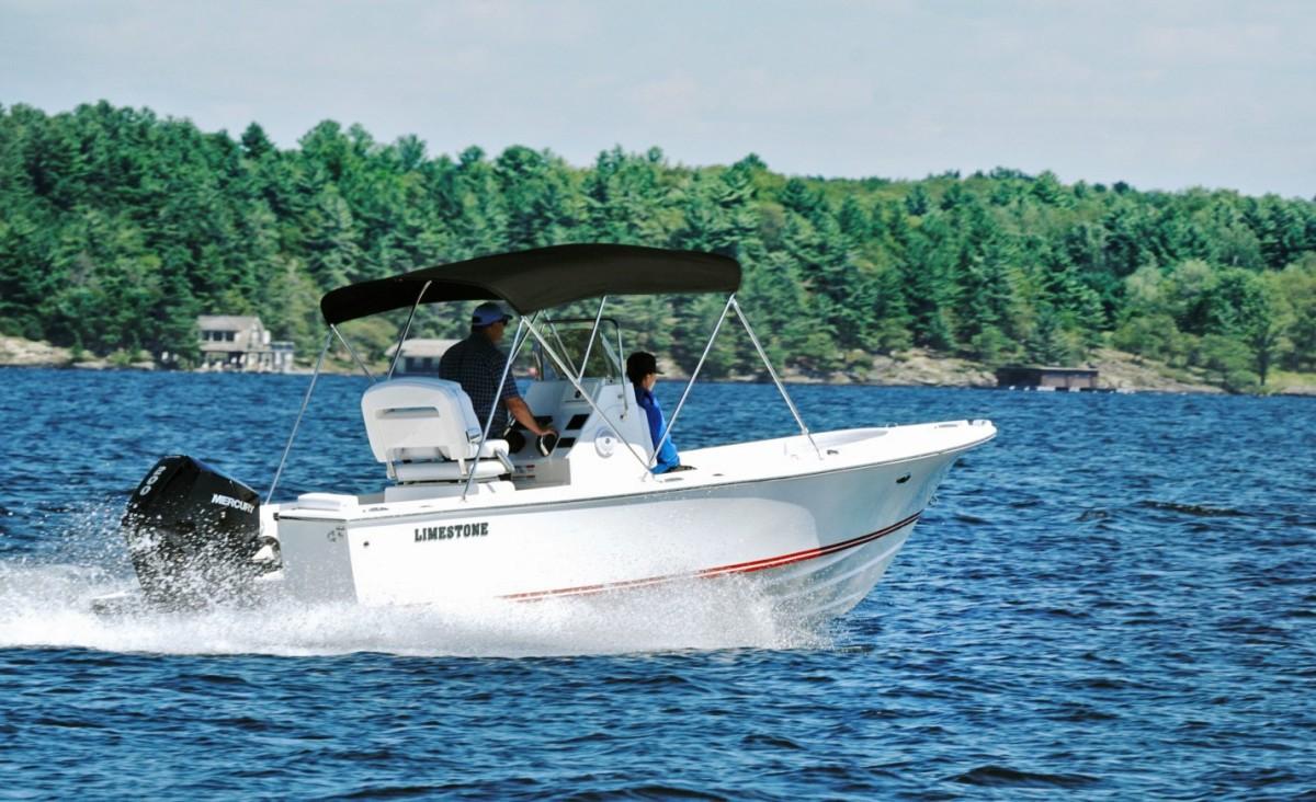 1_Limestone L-200CC first production boat