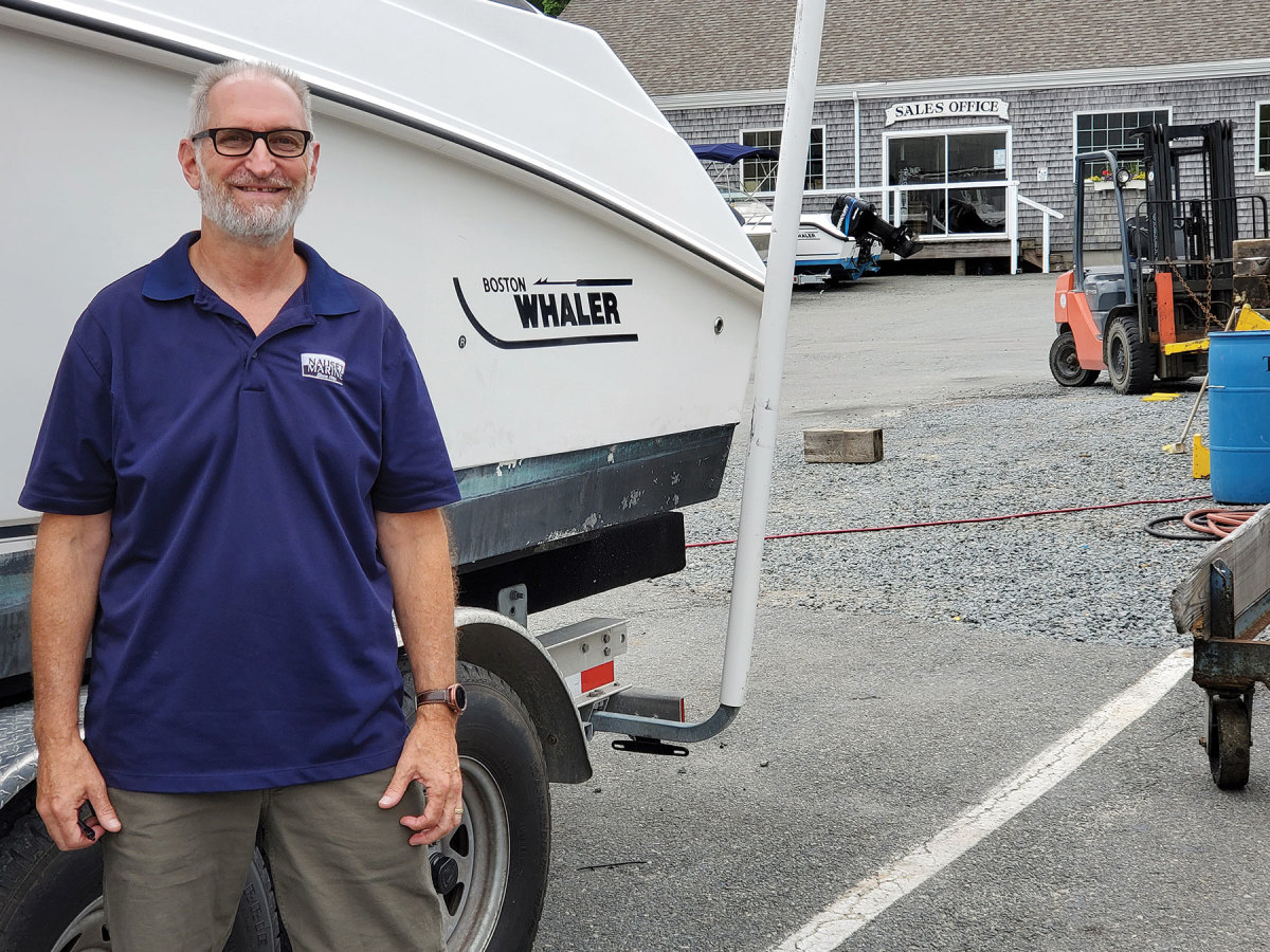 Keith Martin of Nauset Marine in Orleans, Mass., suggests that customers plan well ahead when having a boat launched or hauled and be patient.