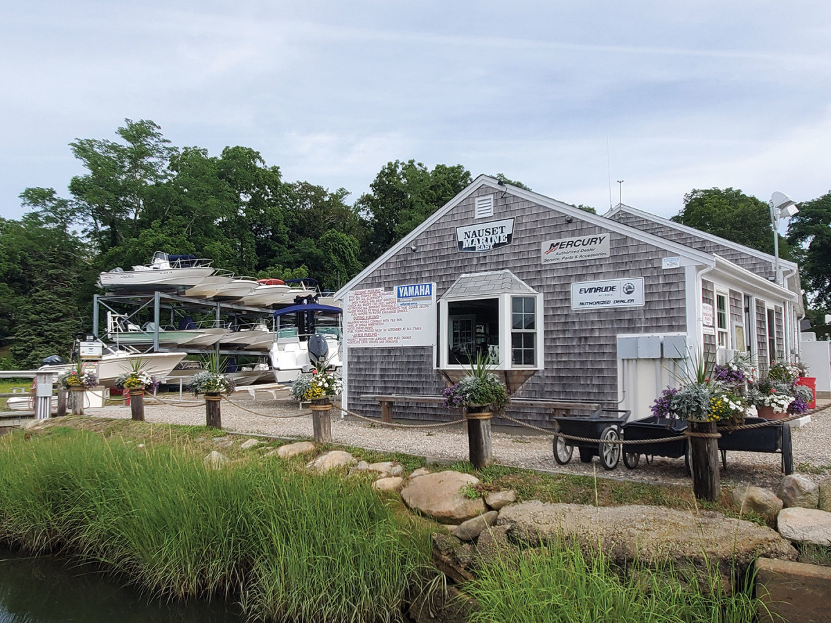 Communication has been key to a smooth boating season for Nauset Marine, as it reaches out to customers by email to schedule launch and haulout times in advance.