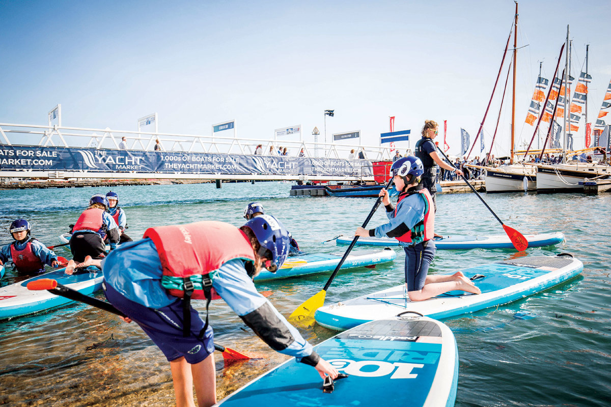 A new Watersports Zone looks to capture the younger generation of enthusiasts.