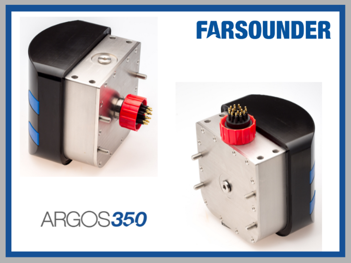 Argos 350 Transducer Module with 2 types of connection capabilities