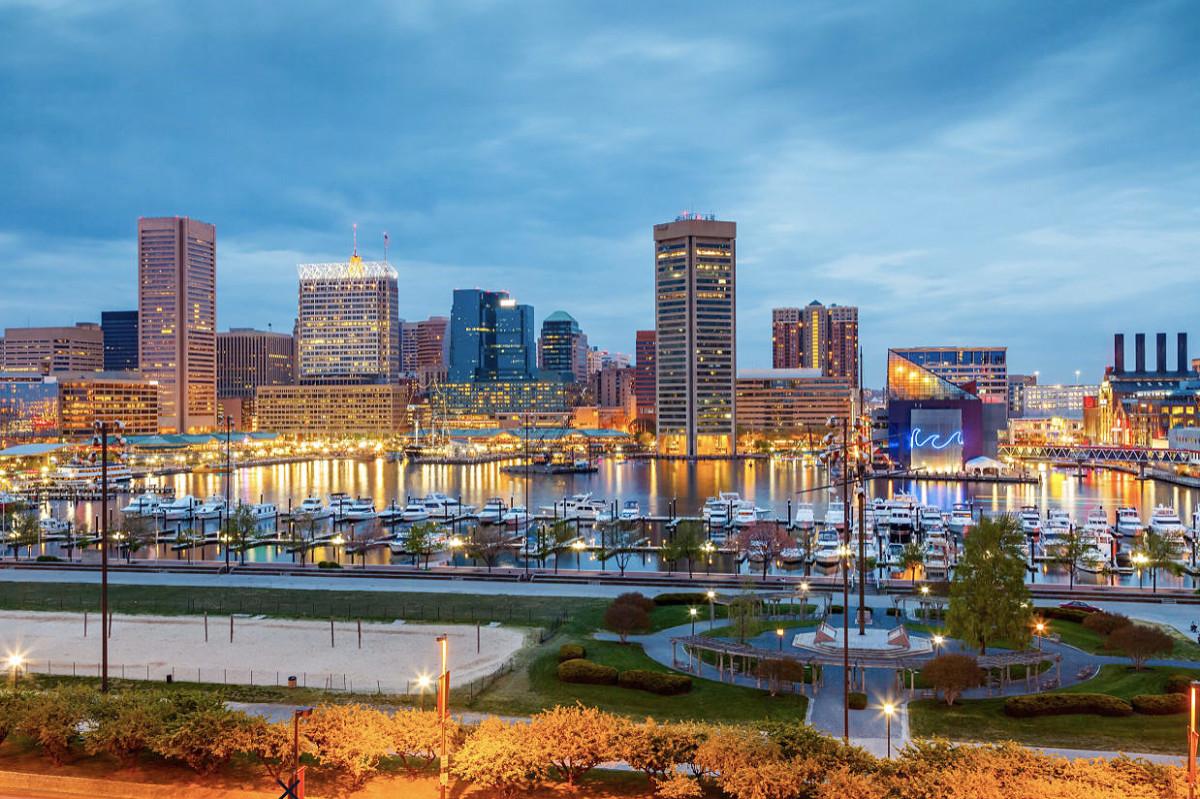 1_Baltimore Inner Harbor Boat Show