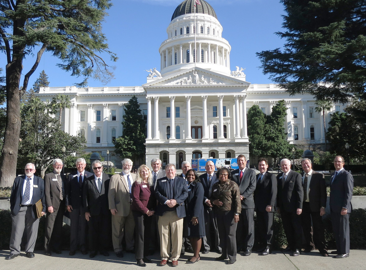 RBOC board of directors at the California state capitol.