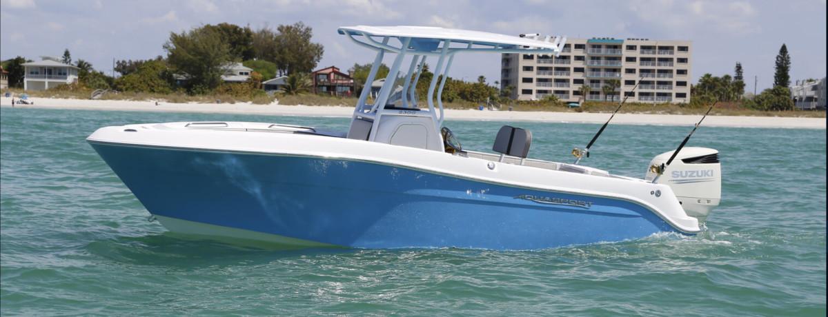 Limestone_Aquasport Boat