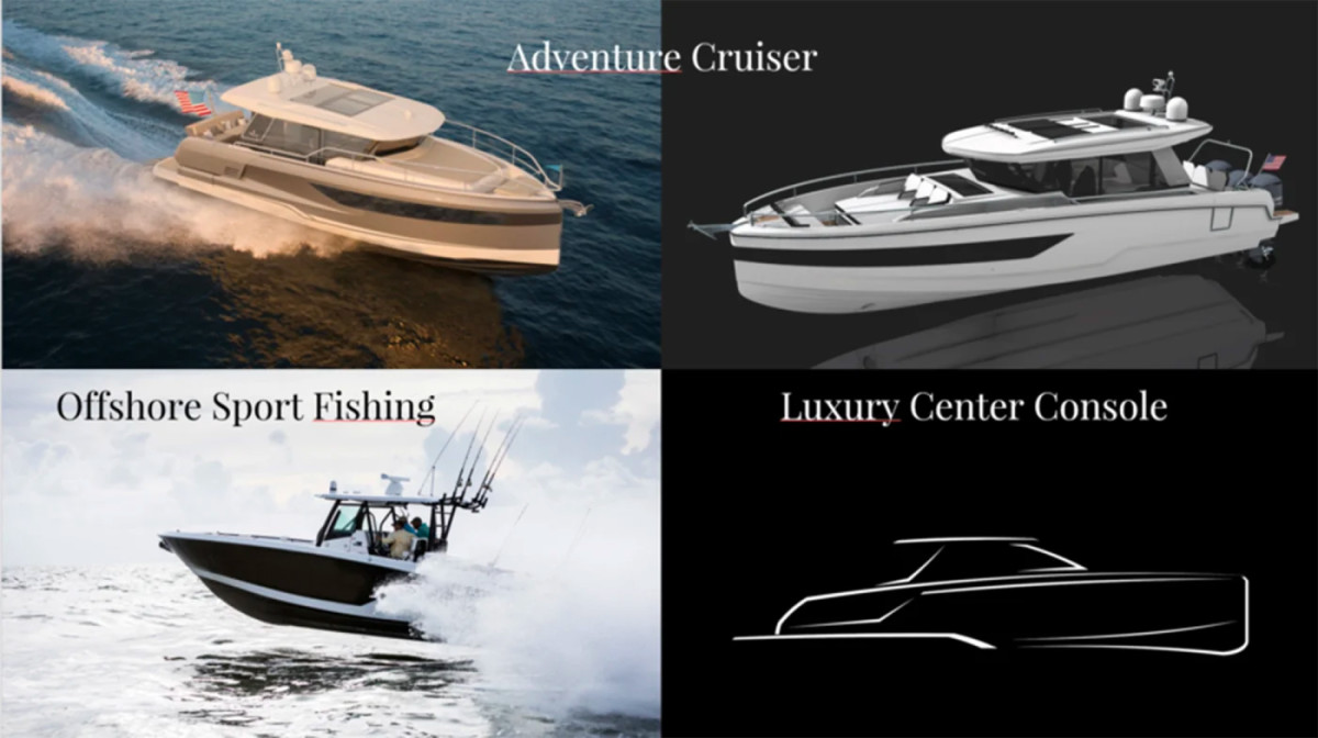 Wellcraft's new range includes outboard-powered adventure cruisers and a line of luxe center consoles.