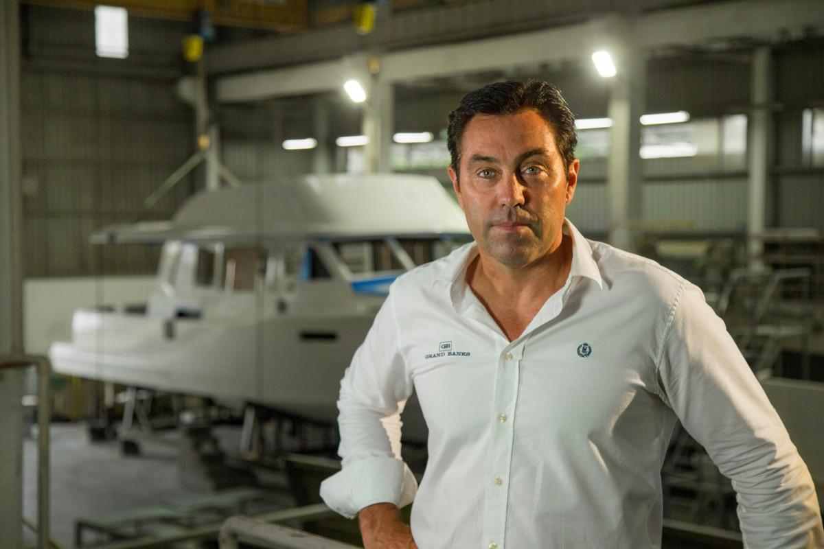 Marine Group CEO Mark Richards.